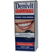 Denivit professional whitening toothpaste - 50ml - pack of 3
