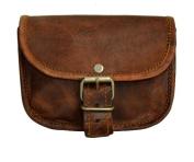 Bum Bag Gusti Leather Belt Pouch Purse Handbag Vintage City Leisure Festival Party Bag Brown Small Unisex G4