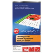 Laminating Pouches, 5 Mil, 5 1/2 X 3 1/2, Index Card Size, 25/pack By