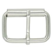 "Bluemoona 20 Pcs - 1.25"" 32mm Single Prong Rectangular Roller Belt Buckles"