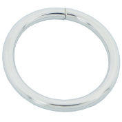 """Bluemoon 20 Pcs - 38mm 1.5"""" Metal O-rings Rings Non Welded"""