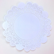 Well-Groomed White Paper Lace Doilies