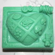 C297craft Art Silicone DIY Soap Moulds Hamdmade Cake Moulds