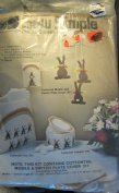 Sew Simple Plastic Canvas Kit Cottontail Mobile Switchplate Cover 311