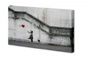 There Is Always Hope Balloon Girl By Banksy Canvas Print| Canvas Wrap 30cm x 46cm