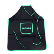 Artoop Black-green Apron for Painting