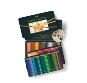 Faber Castell Polychromos Colour Colour Pencils Metal Tin Set of 120 with Cd