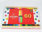 Colleen Premium Colour Pencils, 60 Coloured Pencils