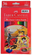 Faber Castell Premium Colour Pencils, 36 Coloured Pencils