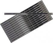 ezpencils - Personalised Metallic Silver Round Pencil - 12 pkg - ** FREE PERZONALIZATION **