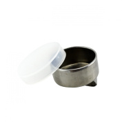 Trasnon Stainless Steel Single Plastic-lid Dipper for Oil Painting and Painting Medium