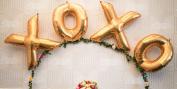 Xoxo 100cm Gold Foil Balloon - Hey Bride - Wedding / Shower / Bachelorette Decor