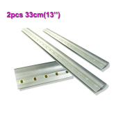 2pcs For Each Kinds Aluminium Alloy Handle Screen Printing Squeegee (33cm
