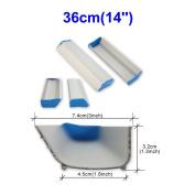 Emulsion Scoop Coater Silk Screen Printing Aluminium Coating Tools DIY Apply (36cm