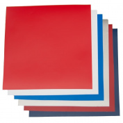 Patriotic Pack Outdoor 30cm x 30cm - Glossy Outdoor Permanent Adhesive Vinyl Oracal 651