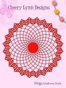 Cheery Lynn Designs Mega Sunflower Doily Die DL179 19cm