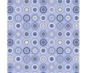 12x12 Double Sided Paper Periwinkle Buttons 6 Sheets