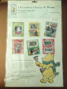 Classic Pooh Christmas Cheers & Hums Scrapbook Page Kit Holiday Theme