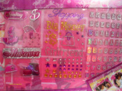 Paris Hilton Scrapbooking Theme Pack- Shopping Fever