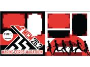 """Marine Corps Marathon"" Scrapbook Kit"
