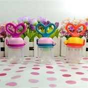 Baby Infant Food Feeder Pacifiers Weaning Vegetable Feeding Nibber