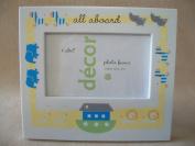 Cudlie Decor All Aboard Nursery Gift 3x5 Photo Frame