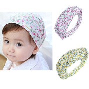 Baby Kids Girl Hair Accessories Cotton Infant Floral Headband