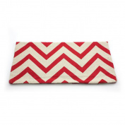 HuntGold 1X Home Sofa Decorative Throw Pillow Cushion Case Ripple Wave Cotton Linen Cover