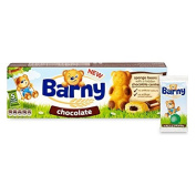 Barny Sponge Bears with Chocolate Centre 5 x 30g by Barny