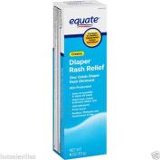 Equate Creamy Nappy Rash Relief Zinc Oxide Ointment, 120ml