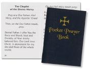 Traditional Cover Pocket Prayer Book Paperback 64 pgs, 6.4cm x 8.6cm H