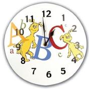 Trend Lab Dr. Seuss ABC Wall Clock