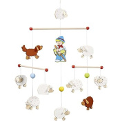 Goki Mobile Flock of Sheep Hanging Toy