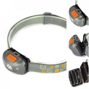 Bang-up 300LM 4 Modes Mini LED Headlamp Waterproof Super Bright Torch Colour Grey and Orange