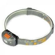 Superlative 300LM 4 Modes Mini LED Headlamp Torch Headlight Flahlight Colour Grey and Orange