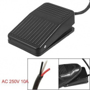 Toolmall Ac 250v 10a Spdt No Nc Momentary Plastic Power Foot Pedal Switch for CNC Industrial