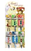 Diva Tweezer Professional Tweezers 'Holidays' 12-Pack with Display