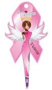 Diva Tweezer Professional Tweezers Breast Cancer Awareness Pink Ribbon Edition Victoria TW1006V