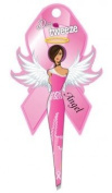 Diva Tweezer Professional Tweezers Breast Cancer Awareness Pink Ribbon Edition Angel TW1006A