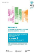 Proceedings of the 20th International Conference on Engineering Design (Iced 15) Volume 1