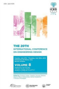 Proceedings of the 20th International Conference on Engineering Design (Iced 15) Volume 8
