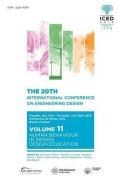 Proceedings of the 20th International Conference on Engineering Design (Iced 15) Volume 11