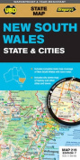 NSW State and Cities Map 219 7th