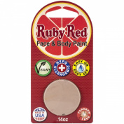 Ruby Red Face Paint - Light Beige