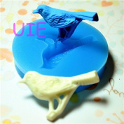 016LBD Pigeon Silicone Flexible Push Mould - Jewellery, Charms, Cupcake