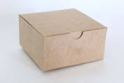 Kraft Favour or Gift Box 4 X 4 X 2 | 12 Ct