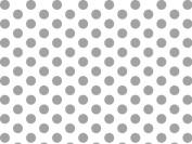 Silver & White Polka Dots Tissue Paper 20 X 30 - 24 Sheets