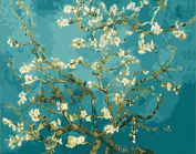 Greek Art Paintwork Paint Colour By Numbers Kit,Almond Blossom Paintwork Painting by Vincent Van Gogh,41cm -by-50cm