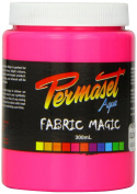 Super Cover Screenprinting Ink - Glow Pink Permaset Aqua Fabric Magic 300ML