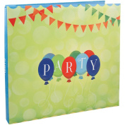 Karen Foster Design Themed Scrapbooking Album, 30cm by 30cm , Party